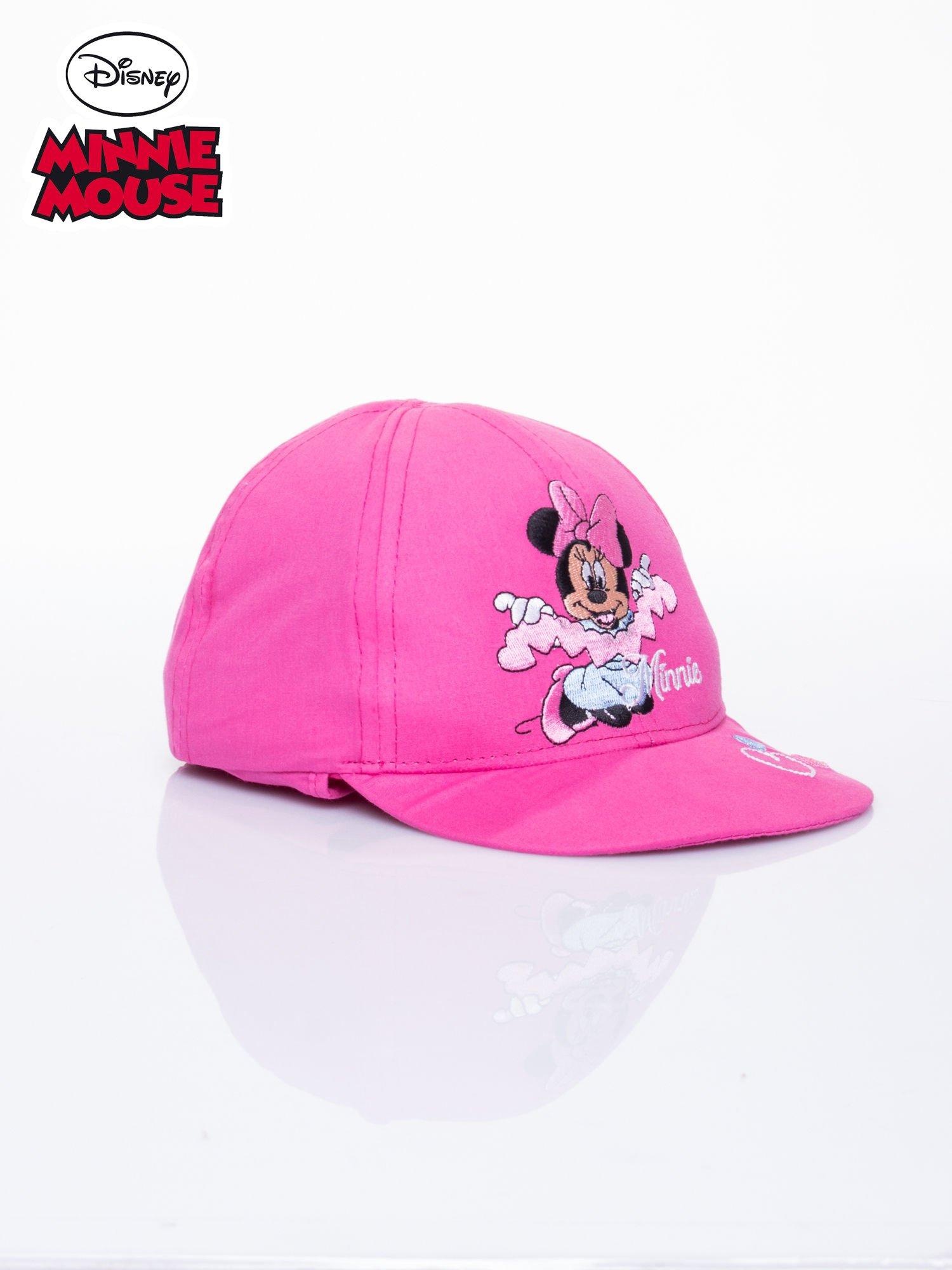 Różowa czapka z daszkiem dla dziewczynki MINNIE MOUSE                                  zdj.                                  2