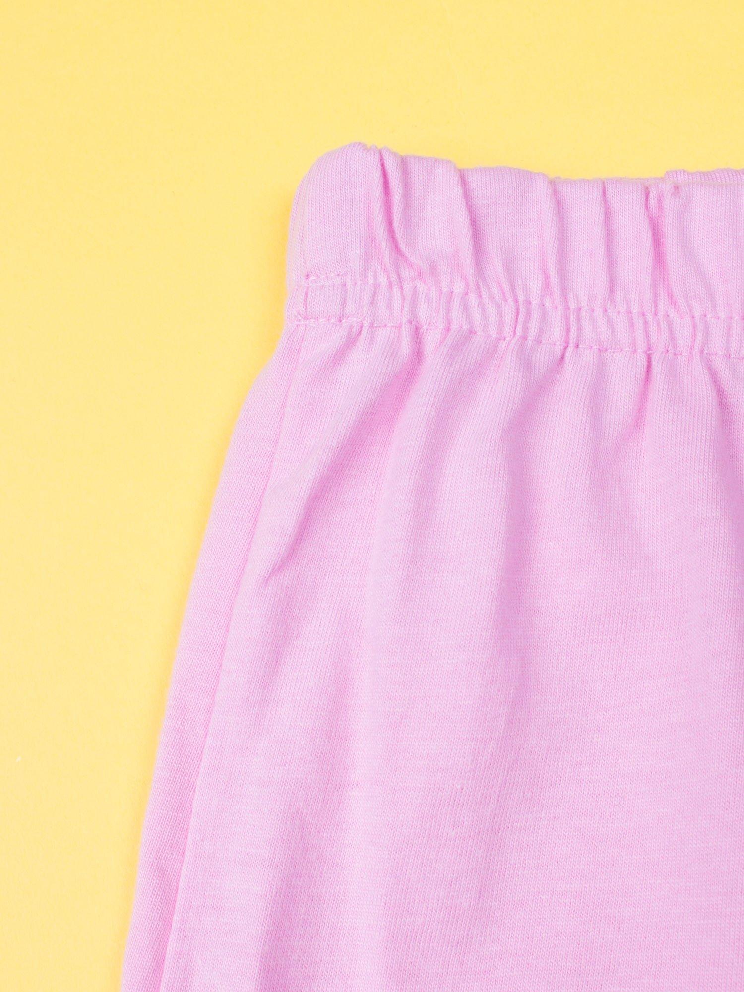 Różowa piżama dla dziewczynki KRAINA LODU                                  zdj.                                  8