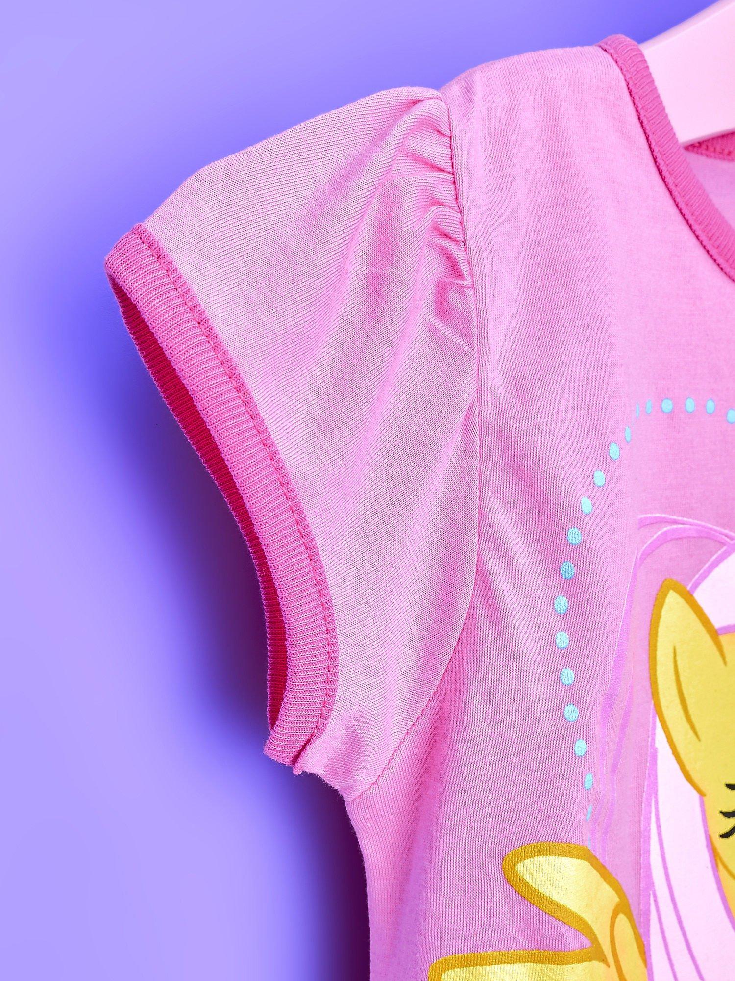 Różowa tunika dla dziewczynki MY LITTLE PONY z kokardką                                  zdj.                                  6