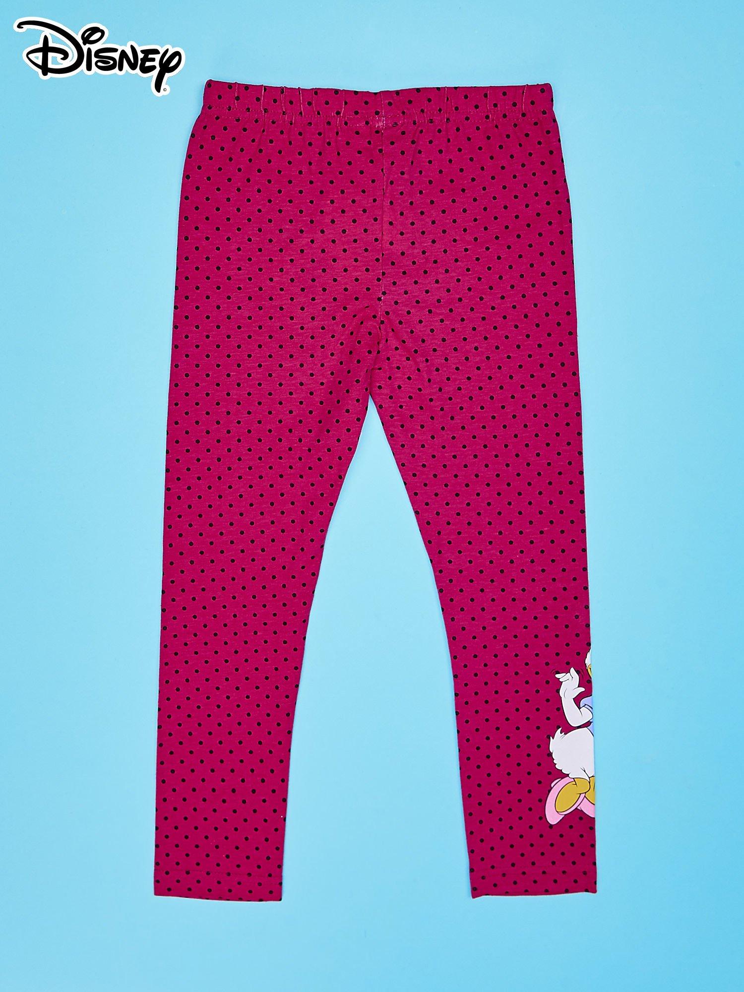 Różowe legginsy w groszki dla dziewczynki DAISY                                  zdj.                                  2
