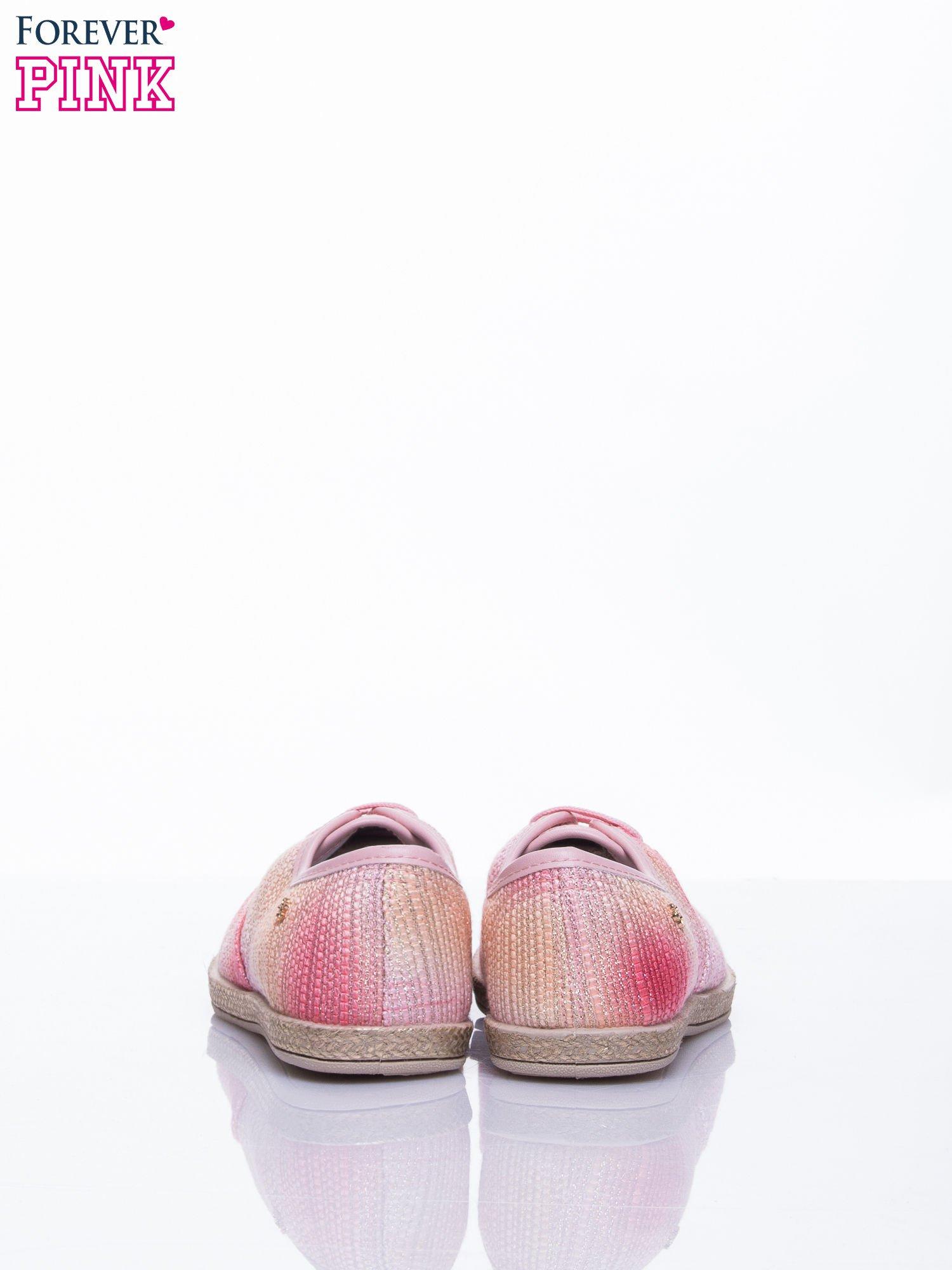 Różowe tenisówki ombre Day Dream                                  zdj.                                  5