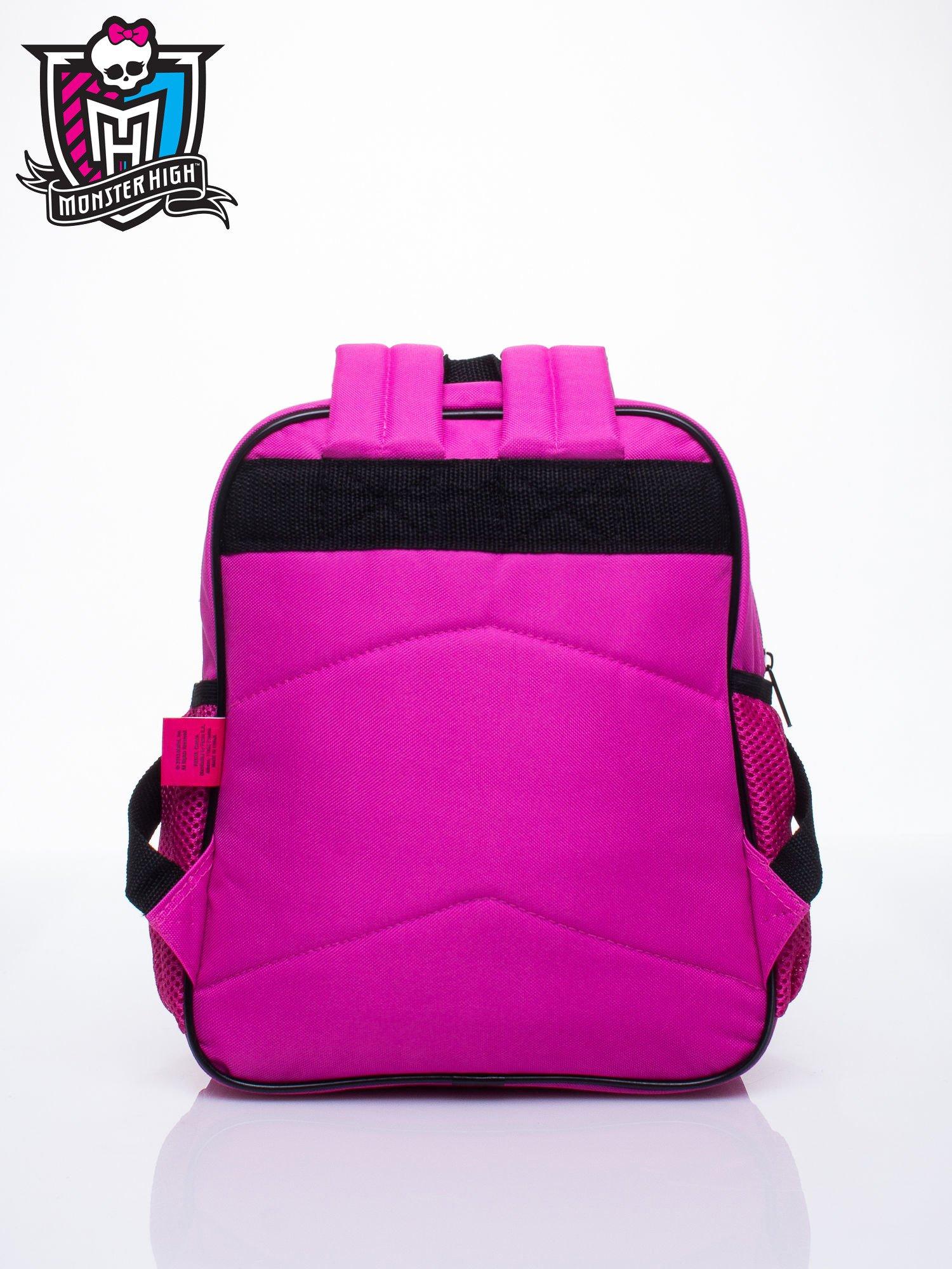 Różowy plecak dla dziewczynki DISNEY Monster High                                  zdj.                                  4