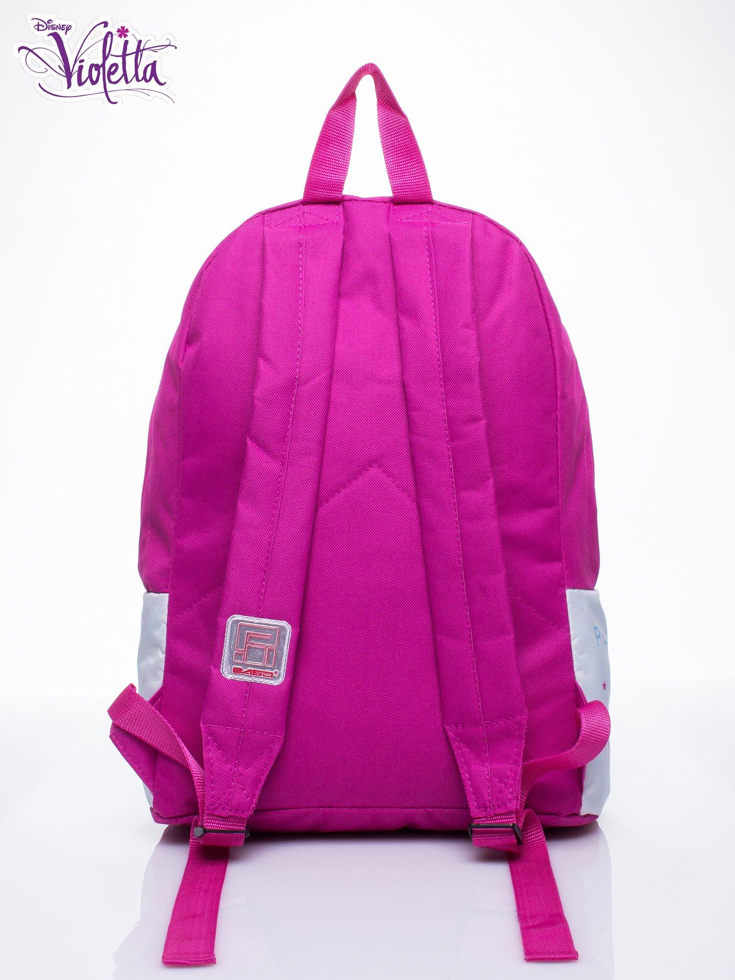 Różowy plecak szkolny DISNEY Violetta                                  zdj.                                  3
