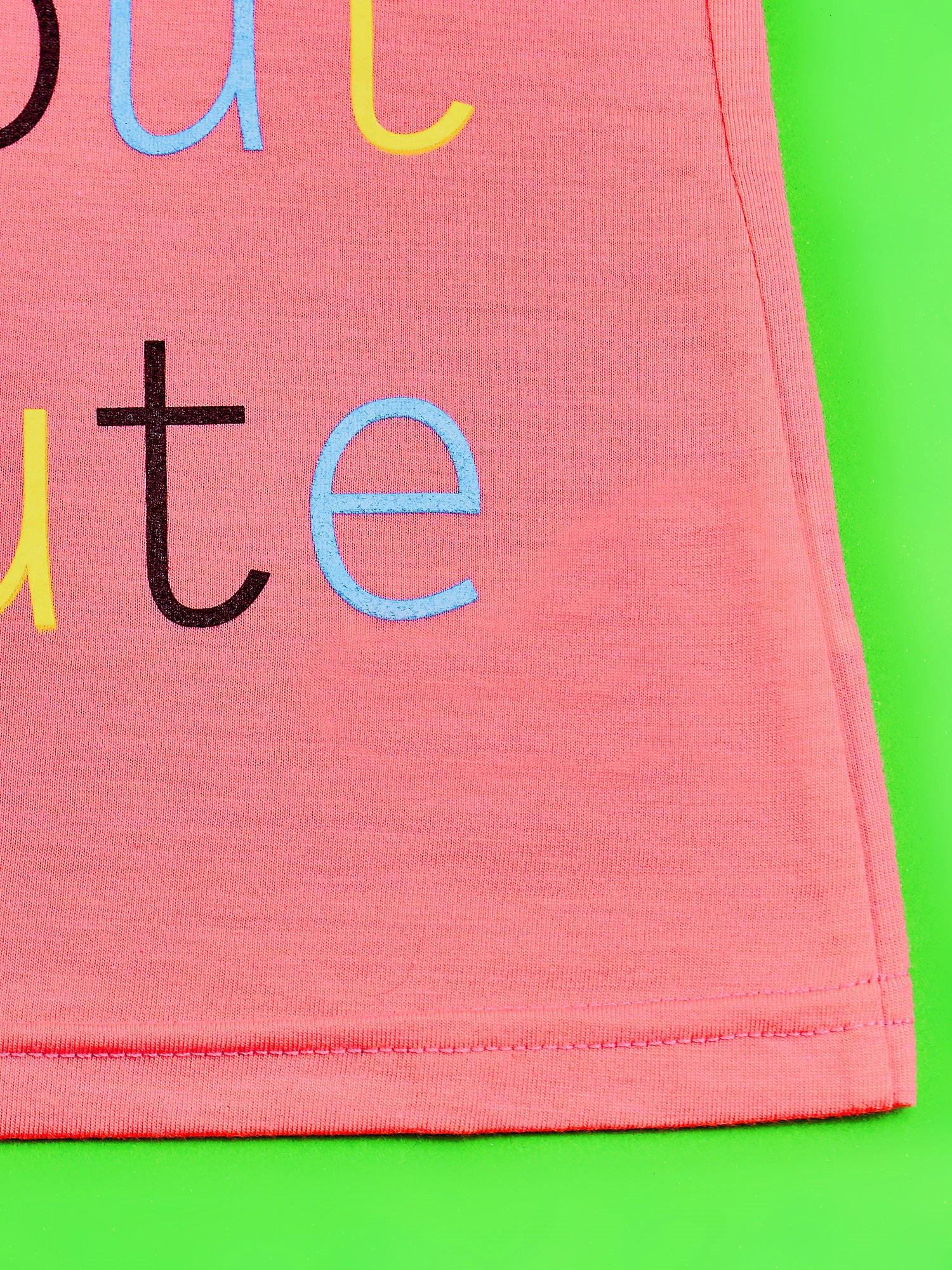 Różowy t-shirt dla dziewczynki HELLO KITTY                                  zdj.                                  5