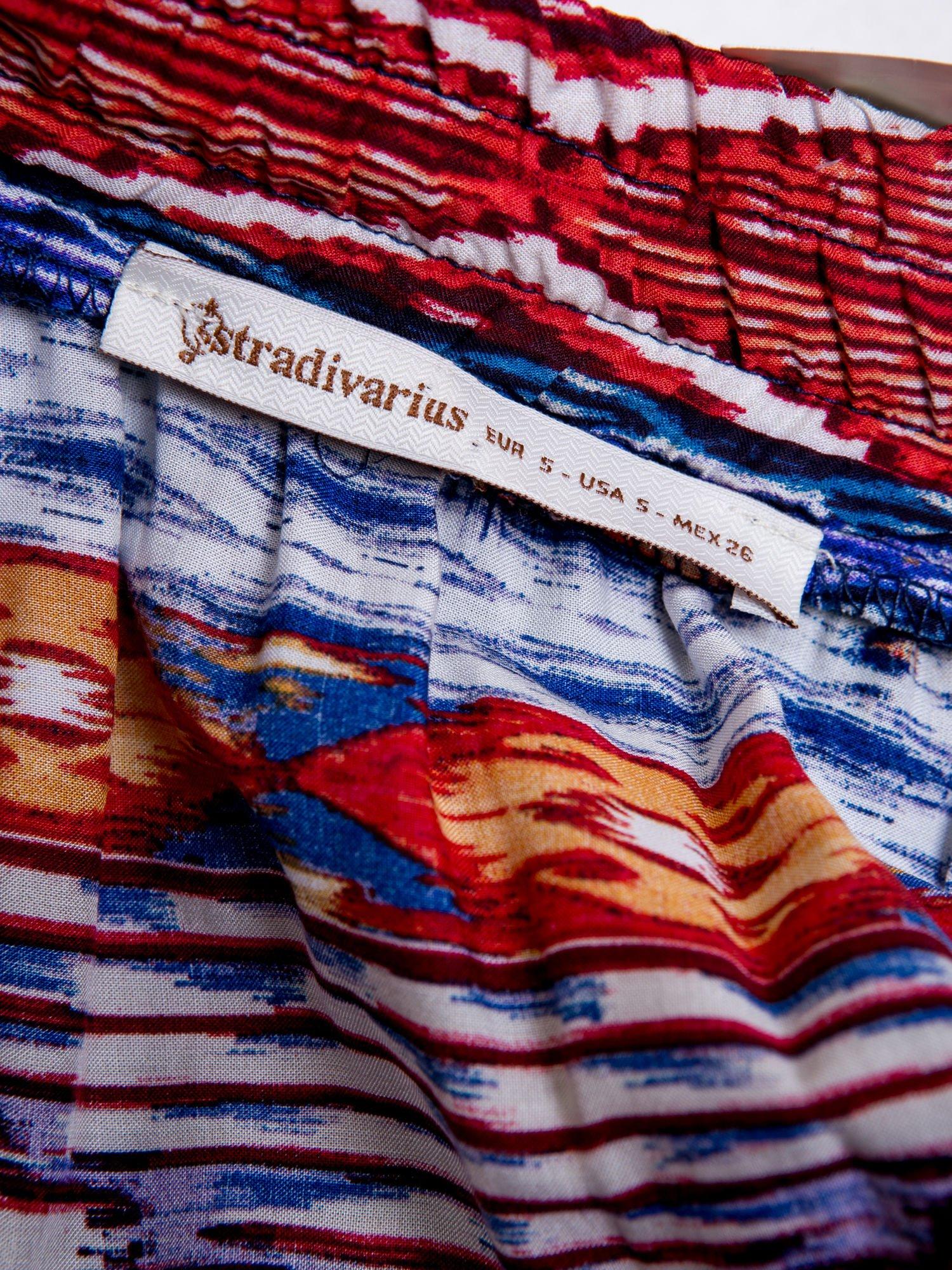 STRADIVARIUS Spódnica mini w azteckie wzory                                  zdj.                                  3