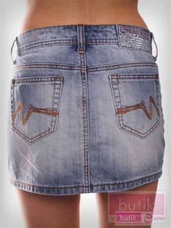 Spódnica jeansowa                                  zdj.                                  2