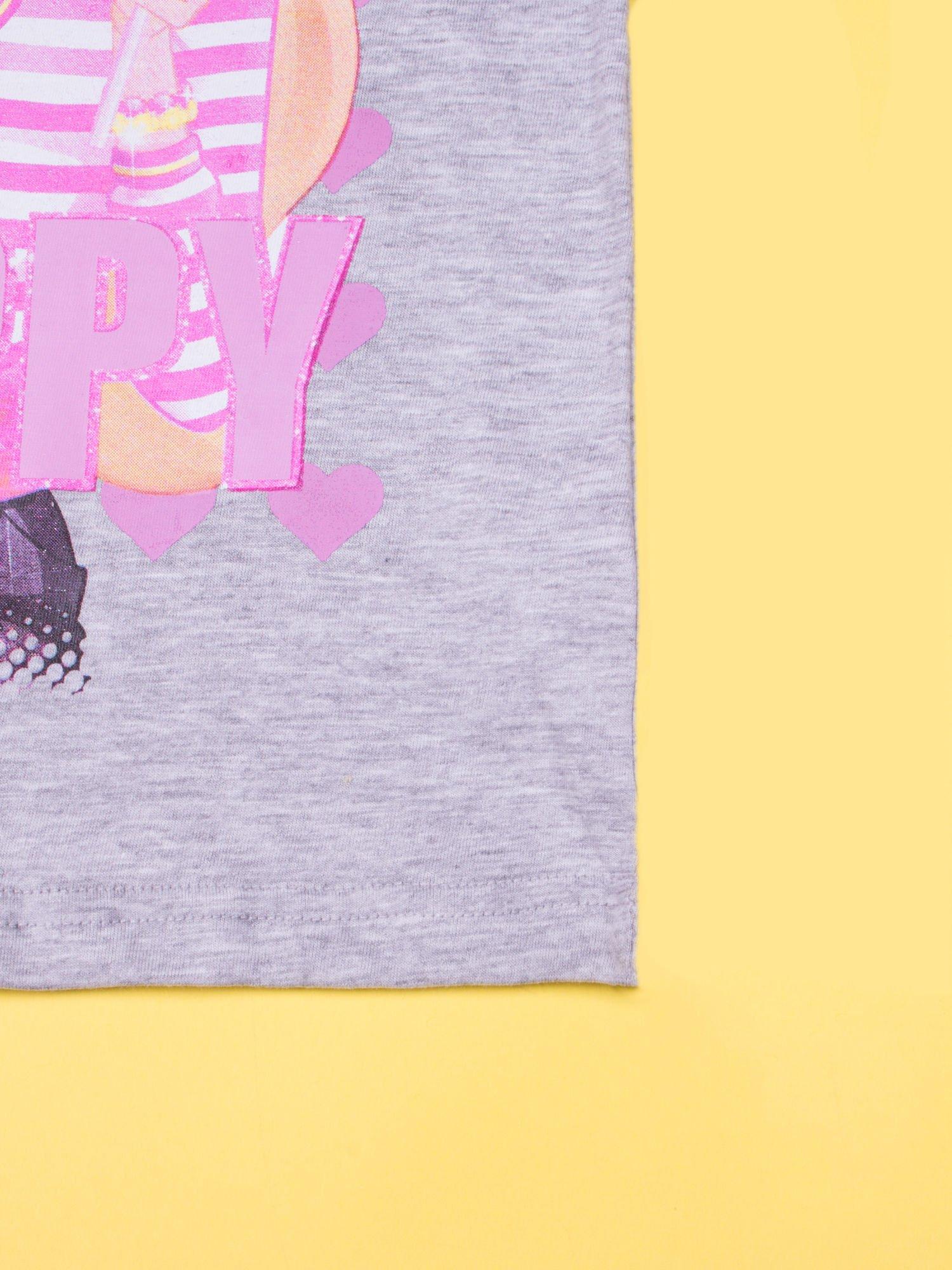 Szara piżama dla dziewczynki BARBIE                                  zdj.                                  8