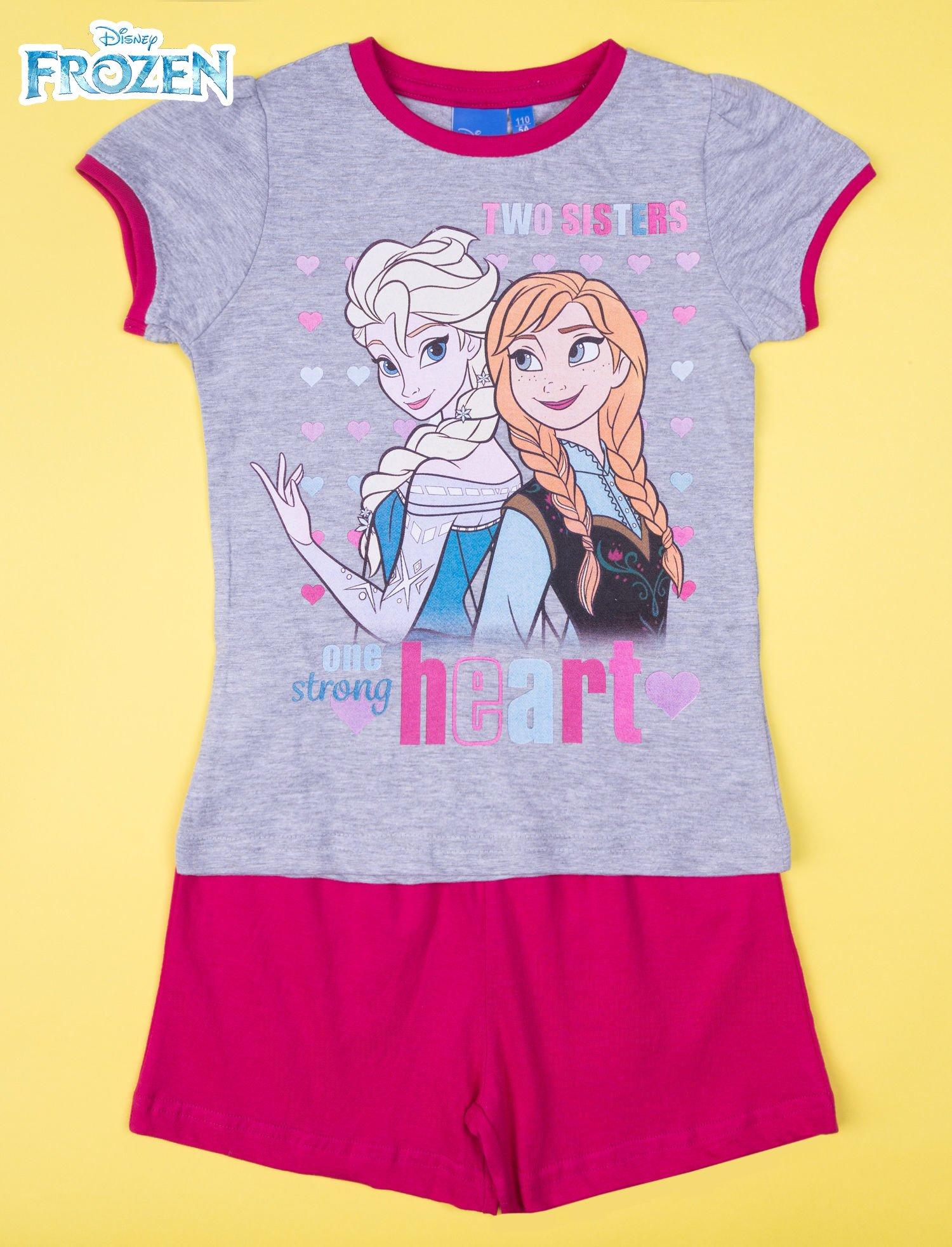 Szara piżama dla dziewczynki KRAINA LODU                                  zdj.                                  1