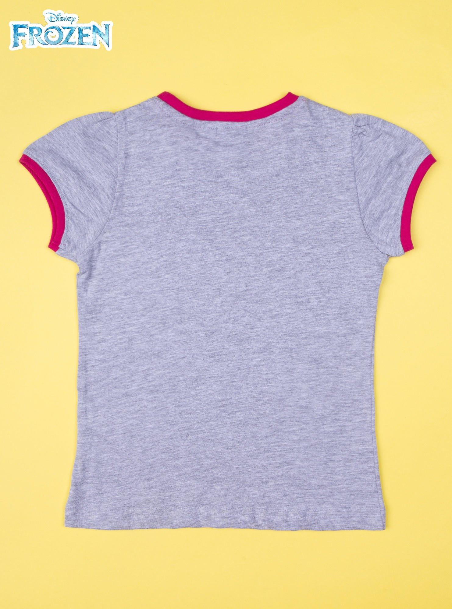 Szara piżama dla dziewczynki KRAINA LODU                                  zdj.                                  3