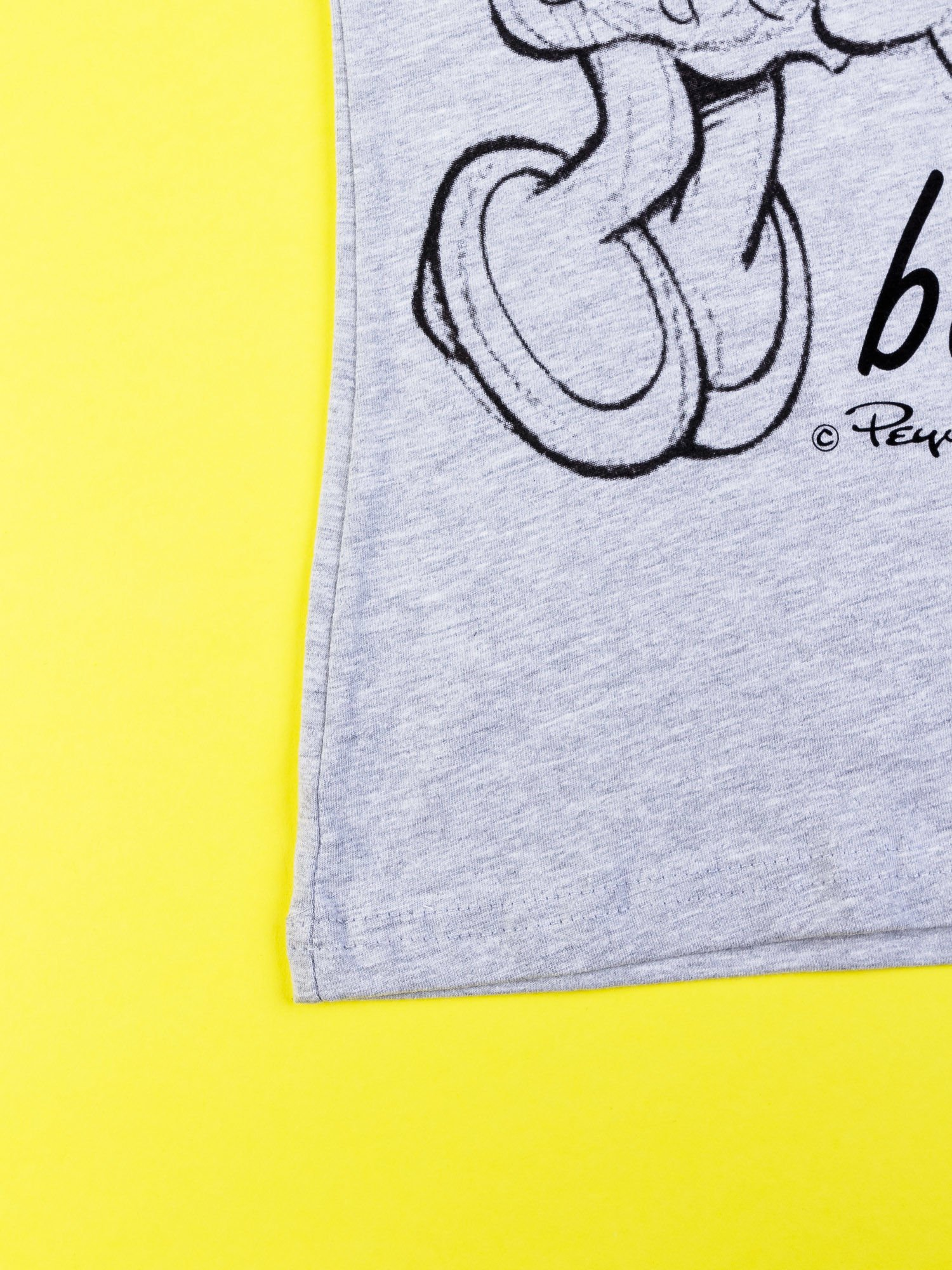 Szary t-shirt SMERFY                                  zdj.                                  3