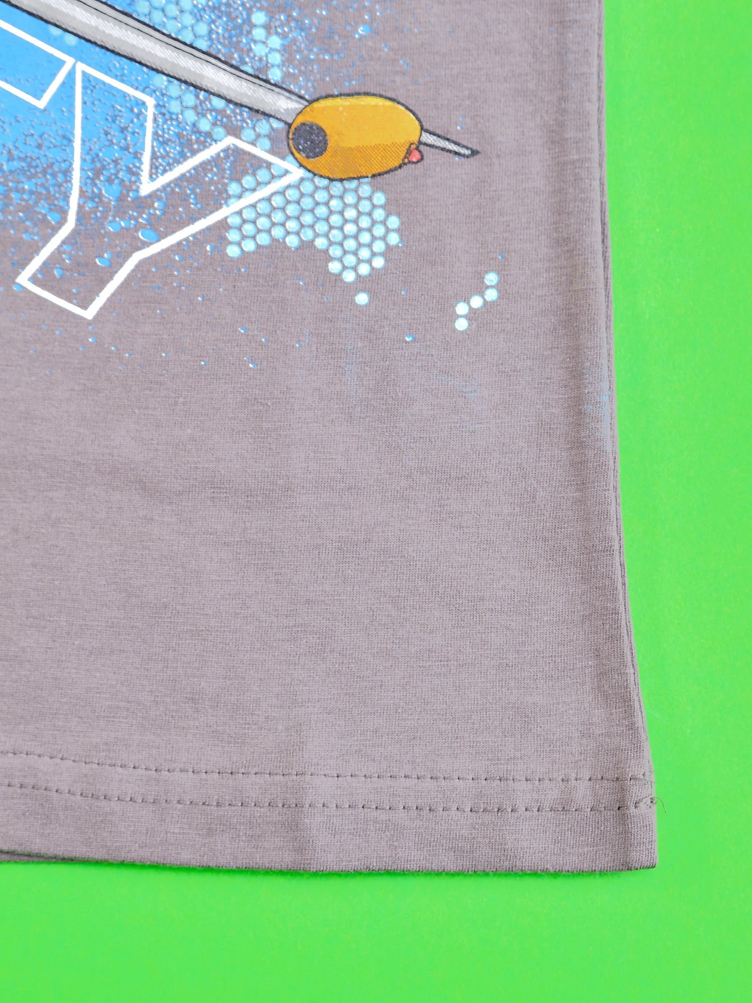 Szary t-shirt chłopięcy SAMOLOTY                                  zdj.                                  5