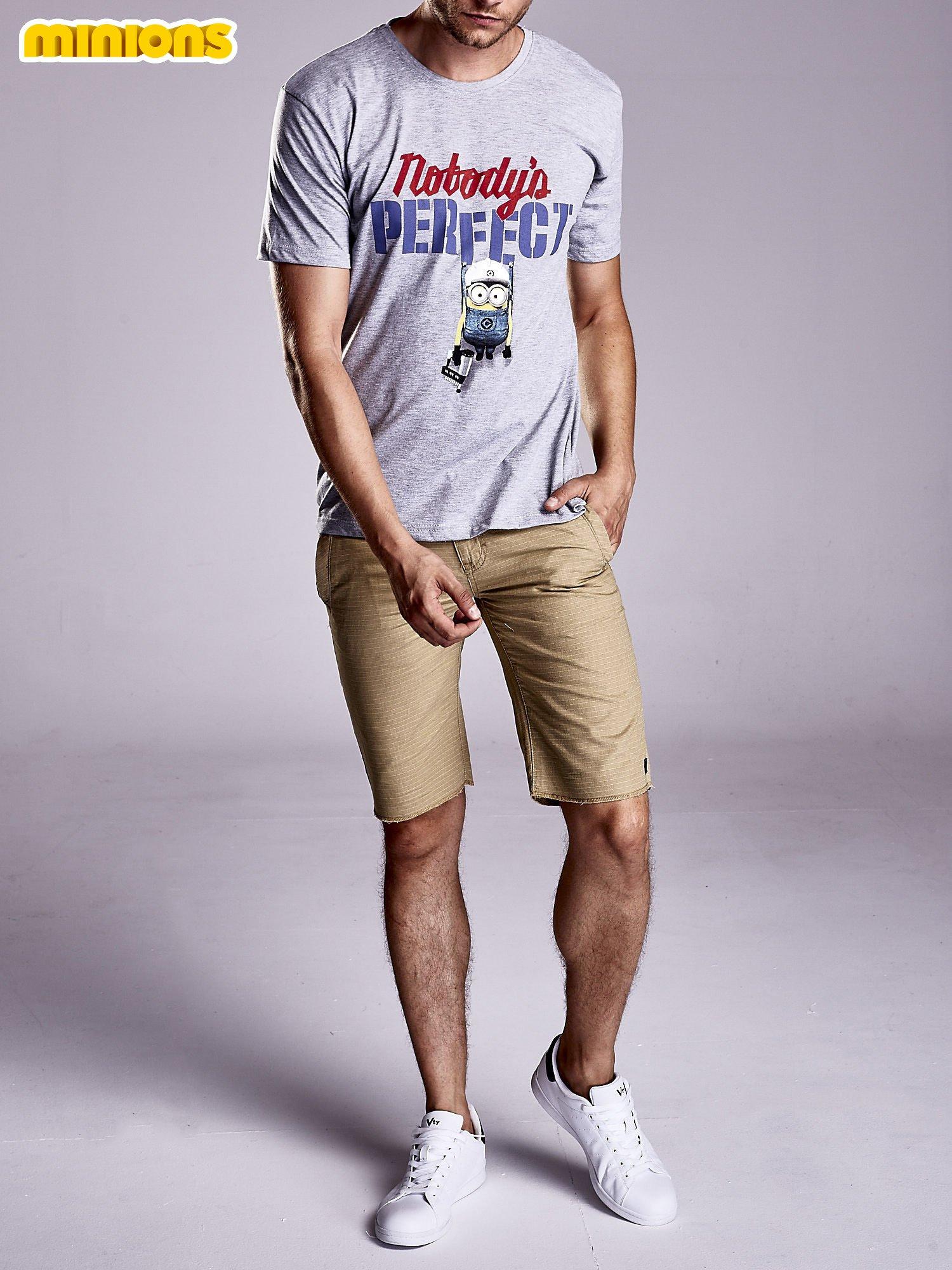 Szary t-shirt męski MINIONS                                   zdj.                                  7