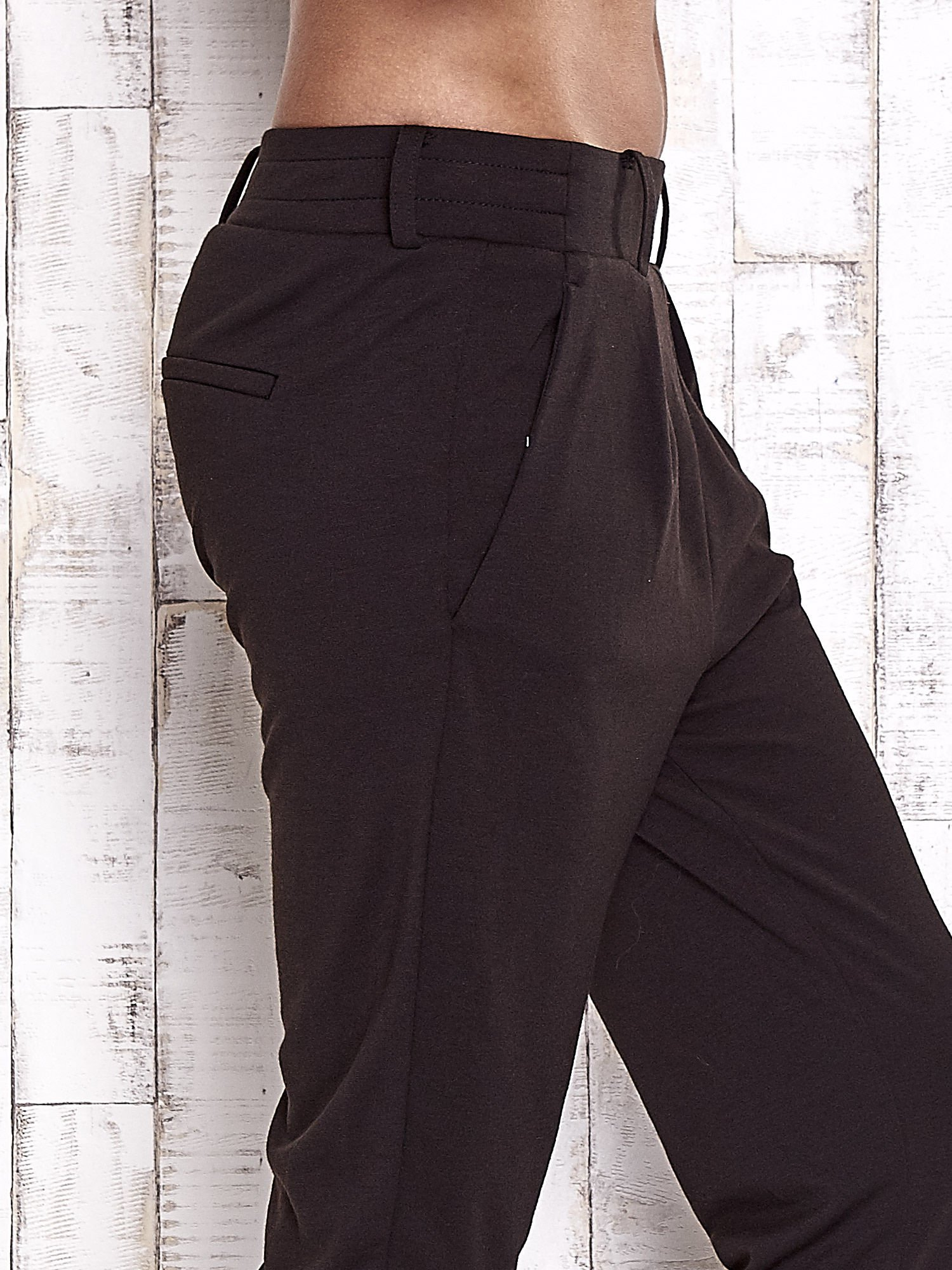 TOM TAILOR Czarne lejące spodnie                                   zdj.                                  6