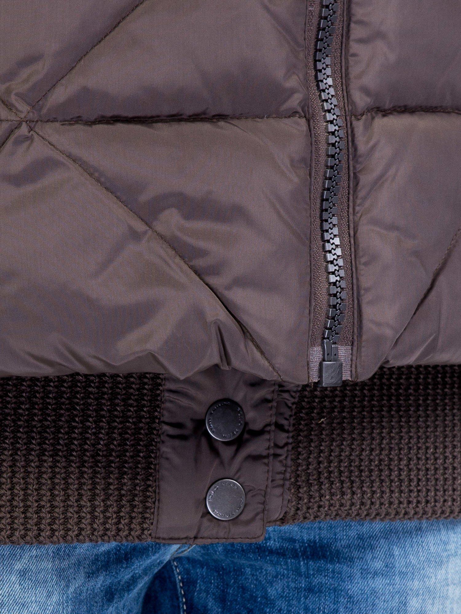 TOM TAILOR Khaki kurtka bomber z szerokim kołnierzem                                  zdj.                                  10