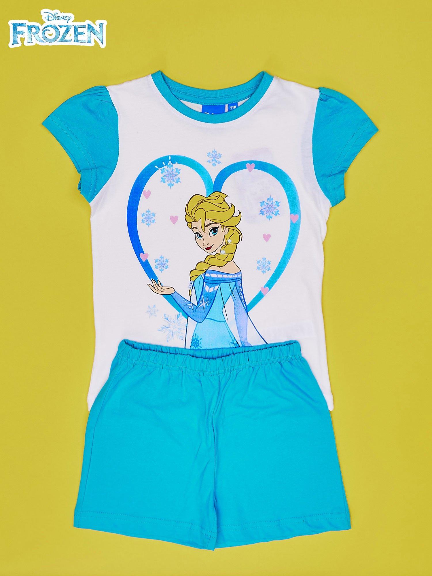 Turkusowa piżama dla dziewczynki KRAINA LODU                                  zdj.                                  1