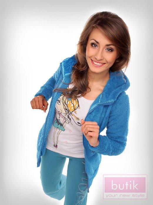 Zestaw: bluza + spodnie fitness                                  zdj.                                  2