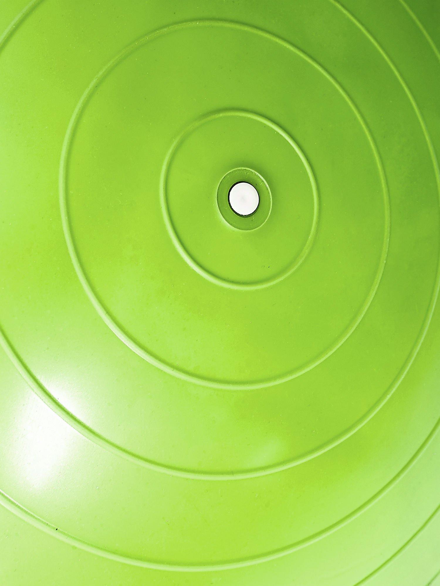 Zielona duża piłka fitness                                  zdj.                                  4