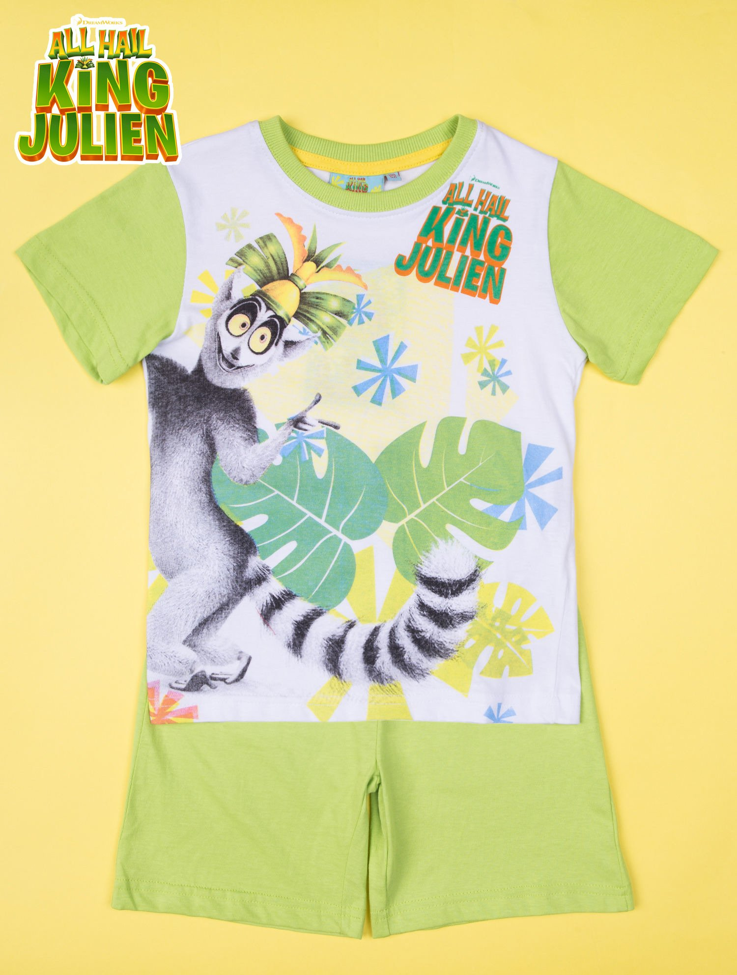 Zielona piżama chłopięca KRÓL JULIAN                                  zdj.                                  1