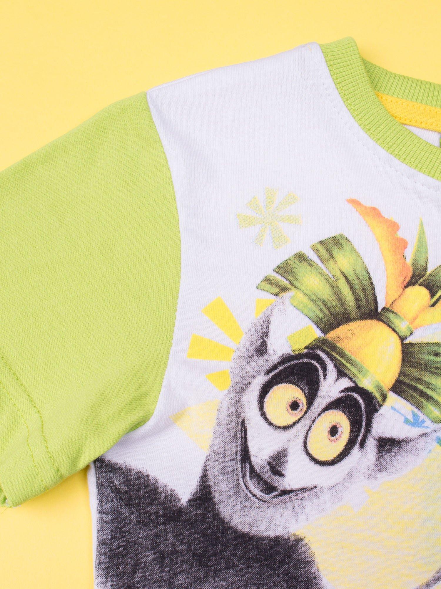 Zielona piżama chłopięca KRÓL JULIAN                                  zdj.                                  6