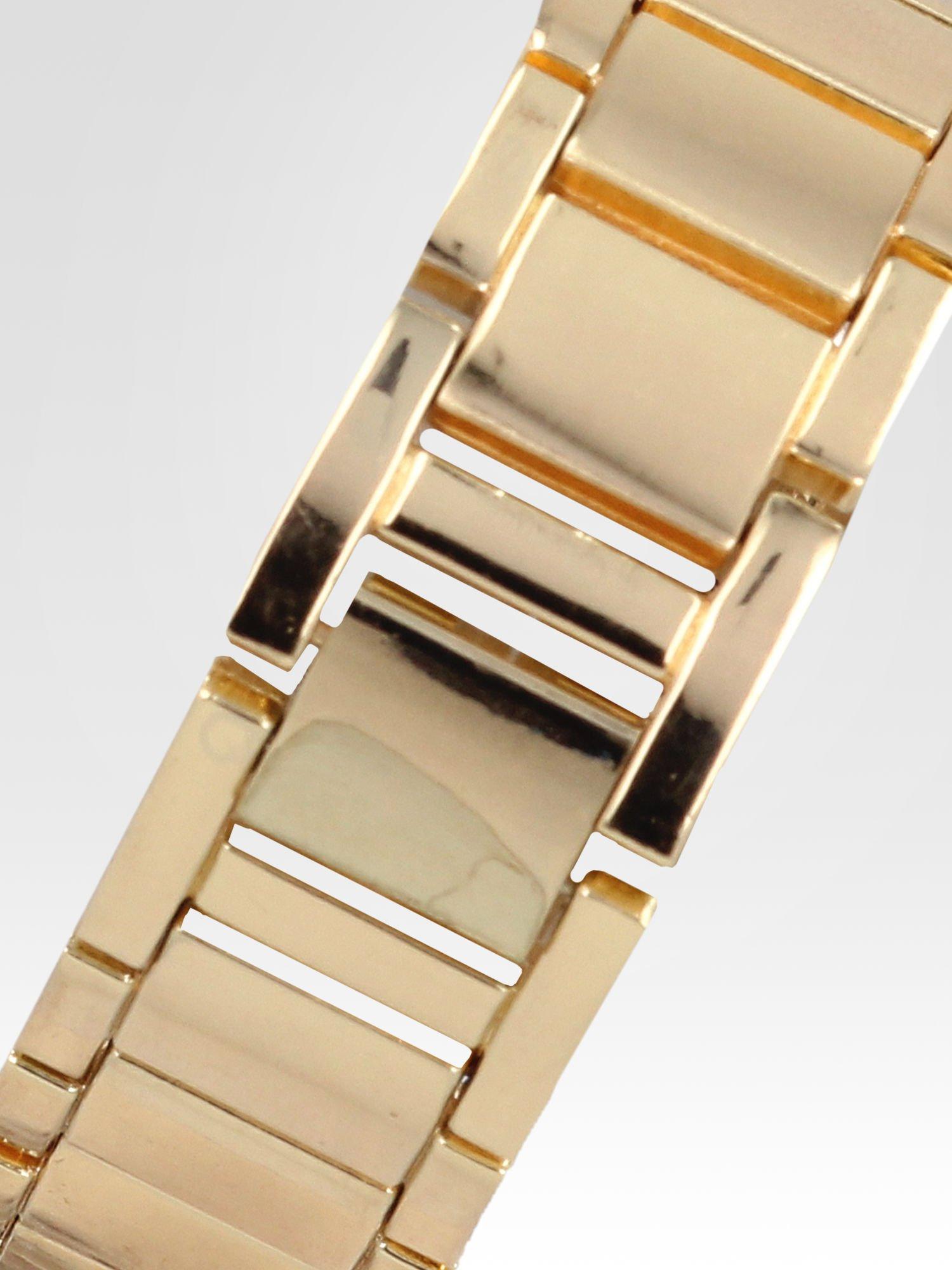 Złoty zegarek damski na cyrkoniowej bransolecie                                  zdj.                                  4