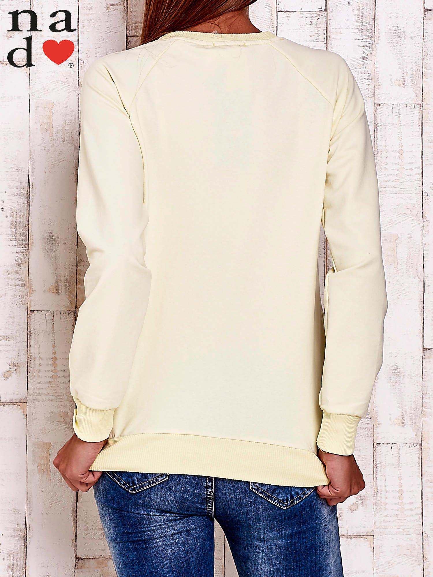 Żółta bluza z piórkiem                                  zdj.                                  3