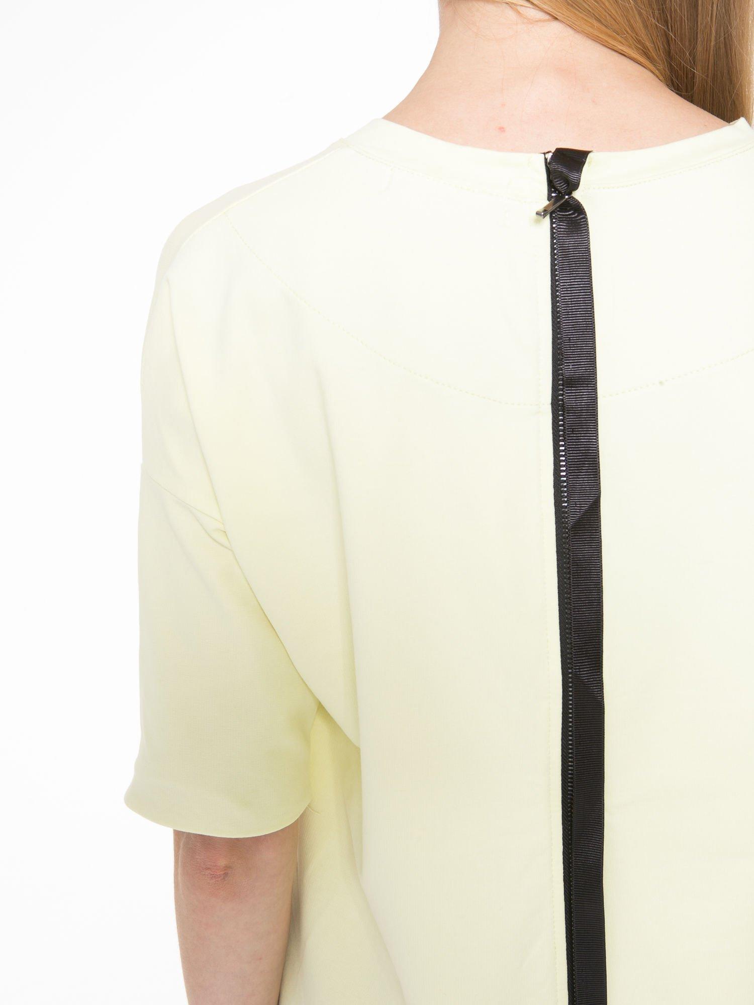 Żółta bluza z suwakiem z tyłu                                  zdj.                                  10