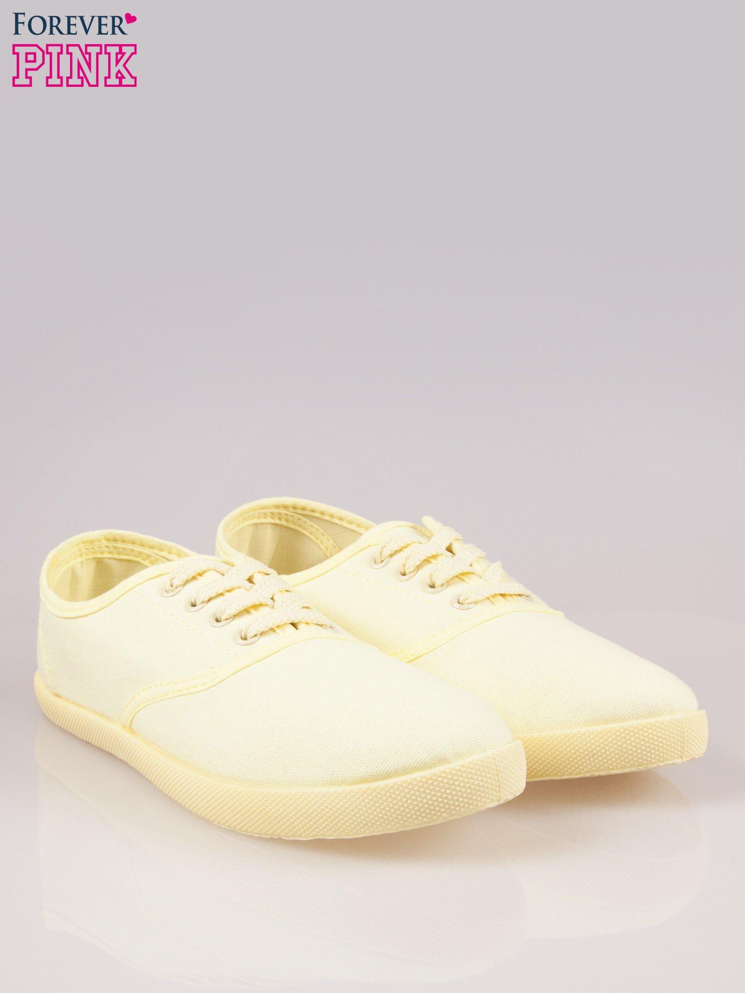 Żółtozielone tenisówki damskie                                  zdj.                                  2