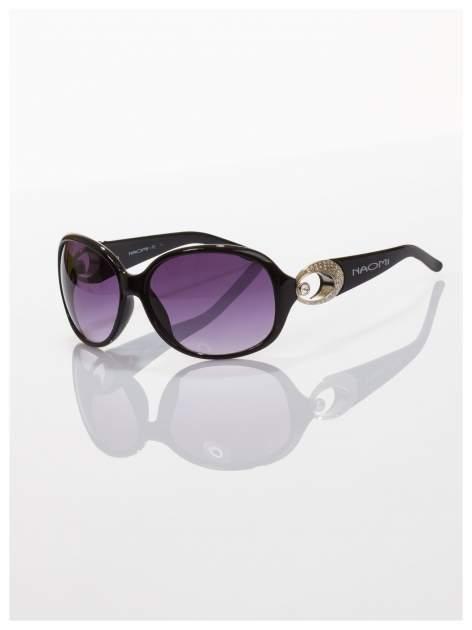 Czarne klasyczne okulary w sytlu MUCHY
