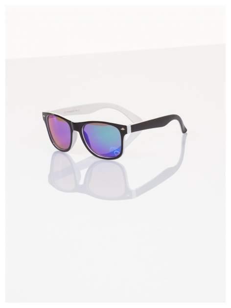 Dziecięce lustrzanki okulary z klasyczną oprawką WEYFARER NERD odporne na wyginania