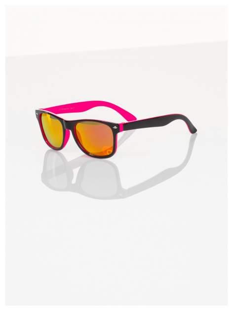 Dziecięce lustrzanki z filtrami UV okulary z klasyczną oprawką WEYFARER NERD odporne na wyginania                                  zdj.                                  1