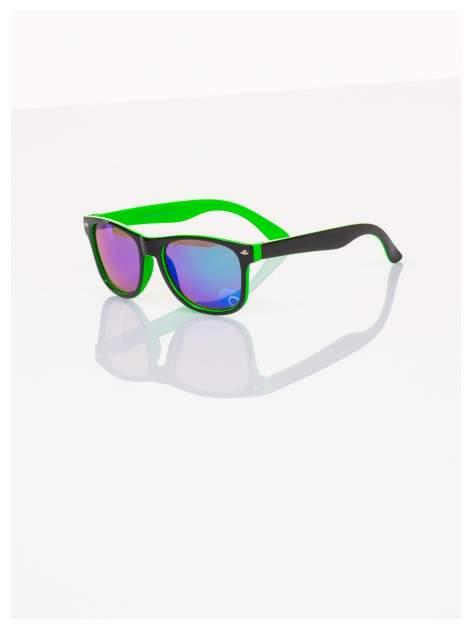 Dziecięce lustrzanki z filtrami UV-okulary z klasyczną oprawką WEYFARER NERD odporne na wyginania                                   zdj.                                  1
