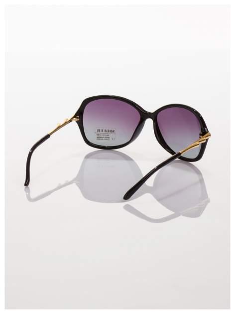 2016 HITEleganckie okulary w stylu MUCHY ze złotymi zausznikami-POLARYZACJA+GRATISY                                  zdj.                                  3
