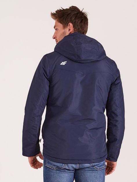 4F Granatowa kurtka narciarska dla mężczyzny                              zdj.                              2