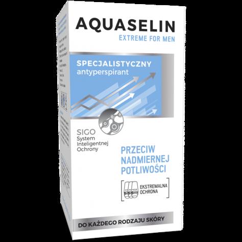 AA Aquaselin Extreme men roll-on Specjalistyczny antyperspirant przeciw nadmiernej potliwości 50 ml