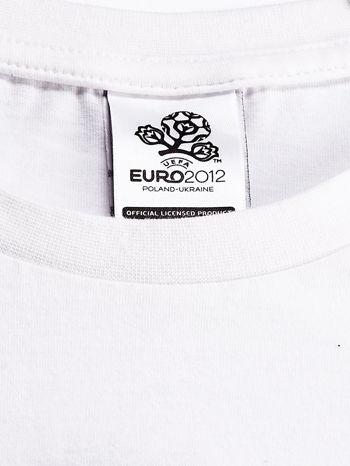 ADIDAS Biały t-shirt z napisem ENGLAND ALL TOGETHER                                  zdj.                                  4