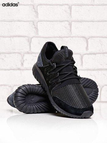 ADIDAS czarne buty męskie Tubular Radial z plecioną membraną                              zdj.                              3