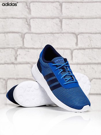 ADIDAS niebieskie buty męskie sportowe Lite Racer w graficzny wzór                              zdj.                              3