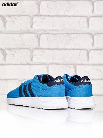 ADIDAS niebieskie buty męskie sportowe Lite Racer z wyższą podeszwą                              zdj.                              4