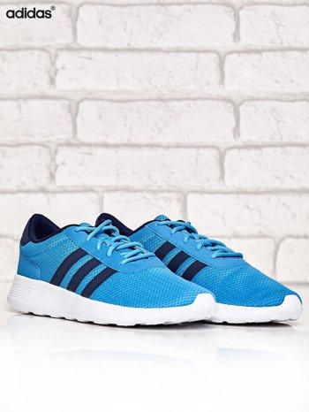 ADIDAS niebieskie buty męskie sportowe Lite Racer z wyższą podeszwą