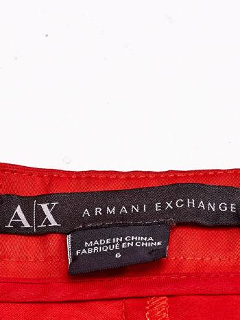 ARMANI Czerwona plisowana spódnica                                  zdj.                                  3