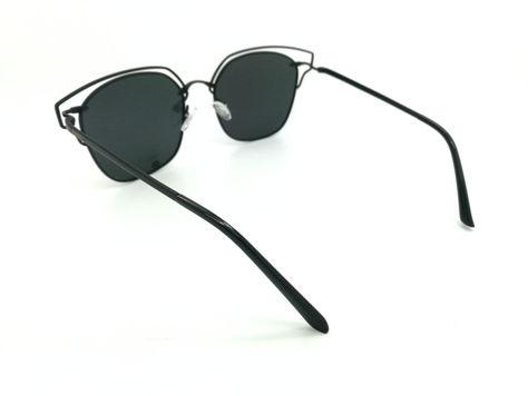 ASPEZO Okulary przeciwsłoneczne POLARYZACYJNE damskie czarne SEUL Etui skórzane, etui miękkie oraz ściereczka z mikrofibry w zestawie                              zdj.                              2