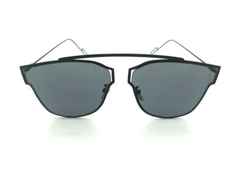 ASPEZO Okulary przeciwsłoneczne damskie czarne HAWAII. Etui skórzane, etui miękkie oraz ściereczka z mikrofibry w zestawie                              zdj.                              1