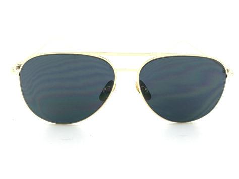 ASPEZO Okulary przeciwsłoneczne damskie czarno-złote BARCELONA. Etui skórzane, etui miękkie oraz ściereczka z mikrofibry w zestawie                              zdj.                              1