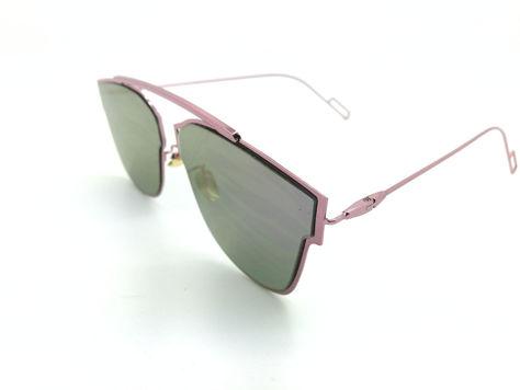 ASPEZO Okulary przeciwsłoneczne damskie purpurowe HAWAII Etui skórzane, etui miękkie oraz ściereczka z mikrofibry w zestawie                              zdj.                              2