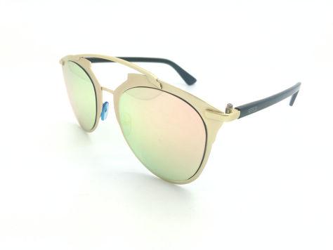 ASPEZO Okulary przeciwsłoneczne damskie różowe MONTREAL. Etui skórzane, etui miękkie oraz ściereczka z mikrofibry w zestawie                              zdj.                              2