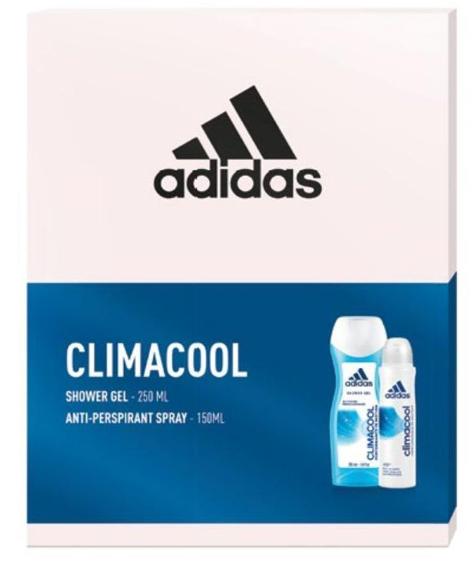 """Adidas Zestaw prezentowy Climacool Women (deo spray 150ml+żel pod prysznic 250ml)"""""""