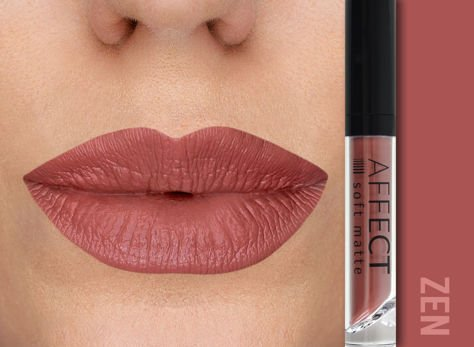 Affect Pomadka w płynie Liquid Lipstick Soft Matte Zen 5 ml                              zdj.                              1