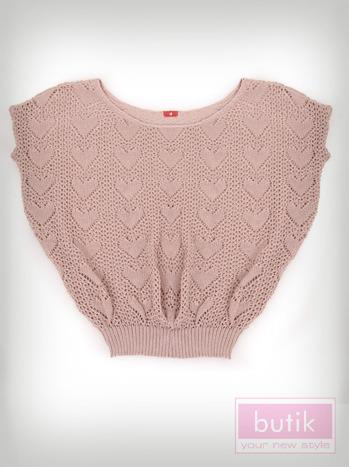 Ażurowy sweter                                  zdj.                                  4