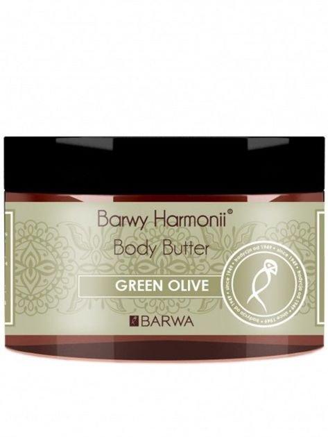 BARWA Barwy Harmonii Masło do ciała pielęgnujące Green Olive 220 ml