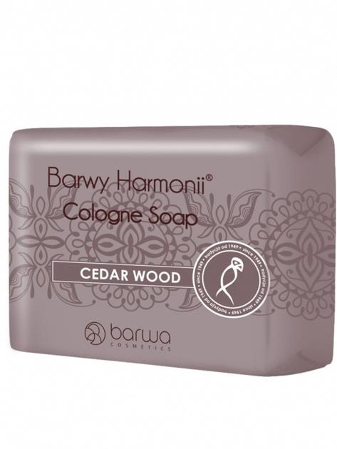 BARWA Barwy Harmonii Mydło w kostce Cedar Wood 190 g